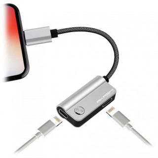 Adaptateur Lightning - Audio Lightning + Charge Akashi