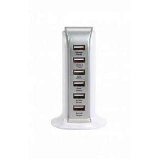 Chargeur Secteur 6 Ports Vectr USB Power Hub Xtorm