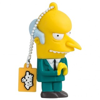 "Clé USB 8Go Tribe Simpsons ""Mr Burns"""