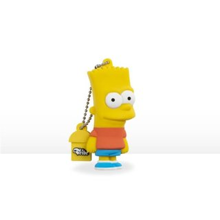 "Clé USB 8Go Tribe Simpsons ""Bart"""
