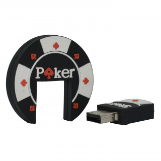 Clé USB 8Go Poker Yello Koko