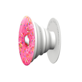Support PopSockets Smartphone/Tablette Pink Donut