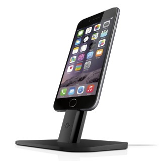 Support iPhone & iPad HiRise Twelve South Noir