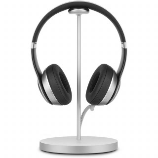 Support Chargeur Casque Fermata Twelve South Argent