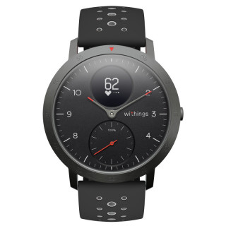 Montre Connectée Withings Multisports Steel HR Sport Noir