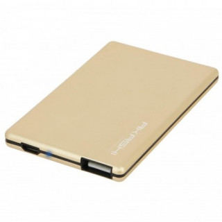 Batterie Secours Smartphone 2300mAh Ultra Slim Akashi Gold