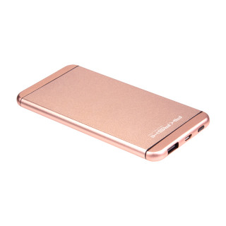 Batterie Secours Smartphone & Tablette 5000mAh Ultra Slim Akashi Or