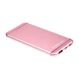 Batterie Secours Smartphone & Tablette 5000mAh Ultra Slim Akashi Rose