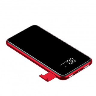 Batterie Induction Digitale Smartphone & Tablette 8000mAh Baseus Rouge