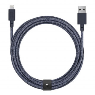 Câble USB-A / Lightning 3m Native Union Belt Cable Bleu Indigo
