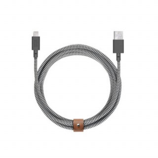 Câble USB-A / Lightning 3m Native Union Belt Cable Zebra