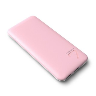 Batterie Externe Smartphone PowerBank 6600 Puridea Rose/Blanc