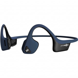 Casque A Conduction Osseuse Sans Fil AfterShokz Trekz Air Titanium Bleu