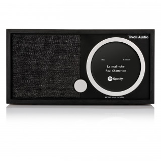 Radio Model One Digital DAB/DAB+/FM WiFi/Bluetooth Tivoli Noir/Noir