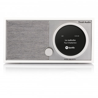 Radio Model One Digital DAB/DAB+/FM WiFi/Bluetooth Tivoli Blanc/Gris
