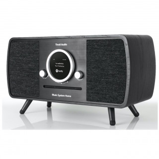 Music System Home CD/DAB/DAB+/FM WiFi/Bluetooth Tivoli ART Noir/Noir