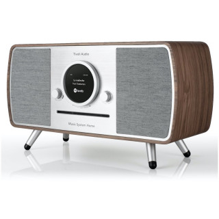 Music System Home CD/DAB/DAB+/FM WiFi/Bluetooth Tivoli ART Noyer/Gris