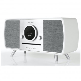 Music System Home CD/DAB/DAB+/FM WiFi/Bluetooth Tivoli ART Blanc/Gris