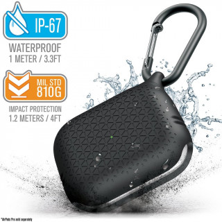 Coque Premium Waterproof Apple AirPods Pro Noir Catalyst