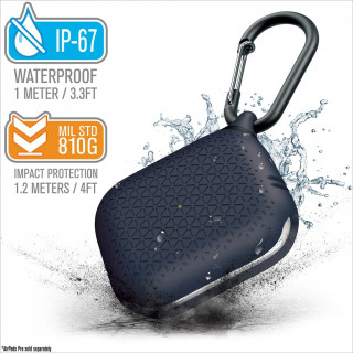 Coque Premium Waterproof Apple AirPods Pro Bleu Catalyst