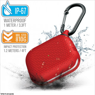 Coque Premium Waterproof Apple AirPods Pro Rouge Catalyst