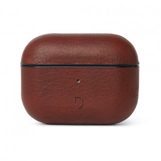 Etui Cuir Apple AirPods Pro Decoded AirCase Pro Marron