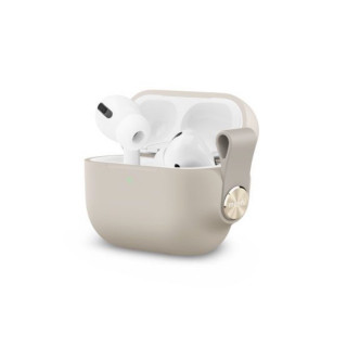 Etui Apple AirPods Pro Moshi Pebbo Beige