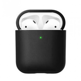 Etui Cuir Apple AirPods Nomad Noir v2