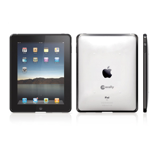 Coque de protection Apple iPad Macally avec bordure silicones