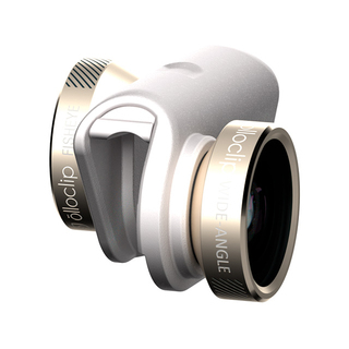 Objectif Photo 4-en-1 iPhone 6/6s/6 Plus/6s Plus Olloclip Blanc/Or