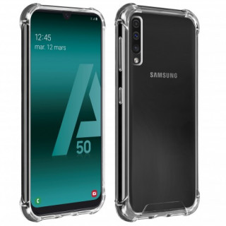 Coque Samsung Galaxy A50 Angles Renforcés Akashi Transparent