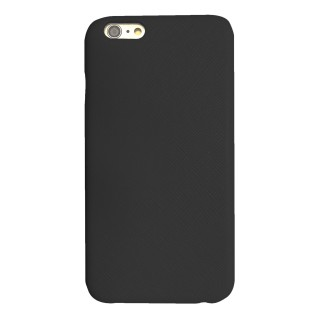 Coque Apple iPhone 6/6s Cuir Akashi Noir
