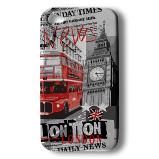 "Coque Akashi Apple iPhone 5/5S/SE ""London News"""