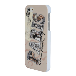 "Coque Apple iPhone 5/5S/SE ""Paris Letter"" Akashi"