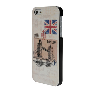"Coque Apple iPhone 5/5S/SE ""London Vintage"" Akashi"
