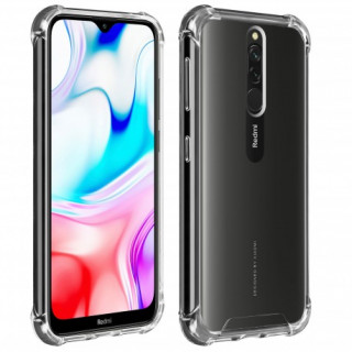 Coque Xiaomi Redmi 8 Angles Renforcés Akashi Transparent
