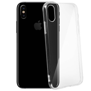 Coque Apple iPhone XS/X Ultra Slim Transparent Akashi