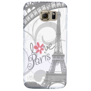 Coque Samsung Galaxy S6 I Love Paris Akashi