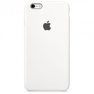 Coque iPhone 6 Plus/6s Plus Silicone Apple Blanc
