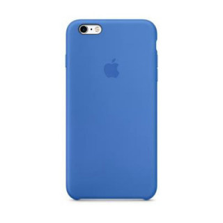 Coque iPhone 6/6s Silicone Apple Bleu Saphir
