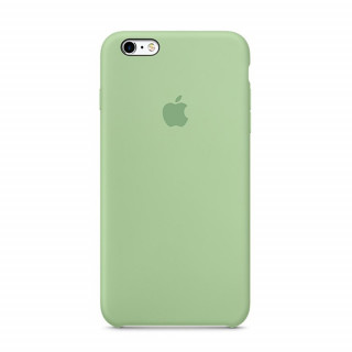 Coque iPhone 6/6s Silicone Apple Vert