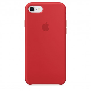 Coque iPhone 7/8 Silicone Apple  Rouge