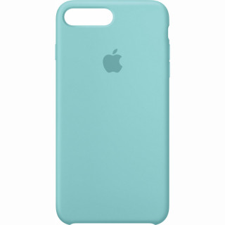 Coque iPhone 7 Plus/8 Plus Silicone Apple Sea Blue