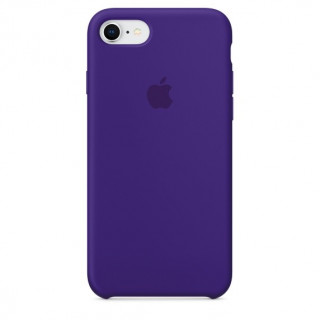 Coque iPhone 7/8 Silicone Apple  Ultra Violet