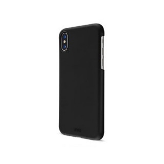 Coque iPhone XR Artwizz Rubber Clip Noir