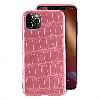 Coque Alligator Véritable iPhone 11 Pro Max Rose