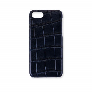Coque Alligator Véritable iPhone 7/8 Bleu Marine