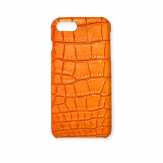 Coque Alligator Véritable iPhone 7/8 Orange