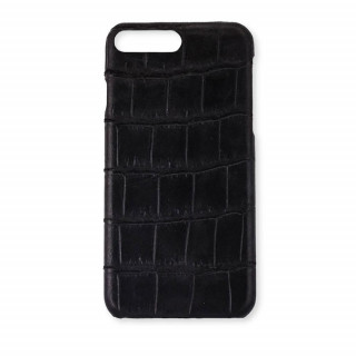 Coque Alligator Véritable iPhone 8 Plus/7 Plus Noir