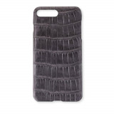 Coque Alligator Véritable iPhone 7 Plus/8 Plus Gris